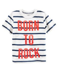 Born To Rock Graphic Tee