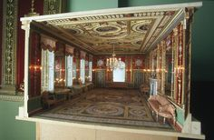 Model of Northumberland House Drawing Room | Askew, Lucy | V&A Search the Collections