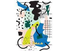 COLORFUL ART PRINT A4 03