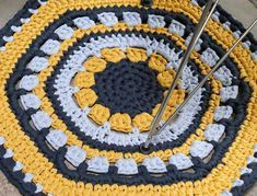 DIY Crochet : un tapis Kolam - Femme Actuelle