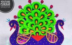 ganpati decoration ideas for home, ganpati decoration ideas, ganpati decoration . Paper Flowers Craft, Paper Crafts Origami, Flower Crafts, Eco Friendly Ganpati Decoration, Ganpati Decoration Design, Festival Decorations, Paper Decorations, Flower Decorations, Popsicle Stick Crafts House