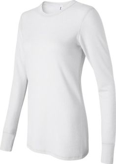 Ladies' Long Sleeve Thermal Tee Shirt, Color: White, Size: Small Bella http://www.amazon.com/dp/B001LNGEK0/ref=cm_sw_r_pi_dp_4IiVtb01WN2SNR9A