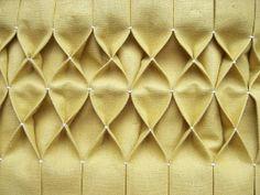 Honeycomb Smocking - great detail