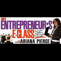 Learn how to gain more clients, build your brand, and make more money with my all new Business E-Coaching Class http://lifecoach2women.com/products/aris-entrepreneurs-e-class/