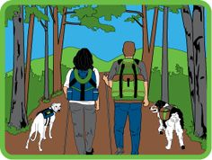 Dog Backpacking patch
