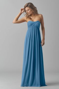 Maids Dress Mackenzie by Watters Fall 2015   Ariel 6969566ac15b