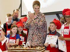 Reina Maxima abre VanHarte restaurante en Lelystad