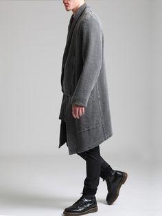 Rustic Cotton Jacket by SYNGMAN CUCALA