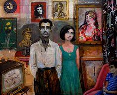 Ali Al Tajer.  iraqi artist