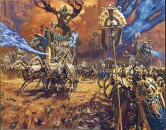 Rois des Tombes, par (auteur inconnu), in Warhammer Battle 8e édition livre d'armée Rois des tombes, par Games Workshop