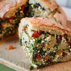 Stuffed Bread - Gefülltes Brot