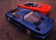 Corvette mid engine concepts