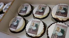 Cupcakes for launch party #novel #IfChoicesUnravel
