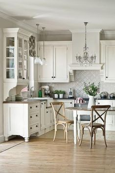 Beautiful French Country Kitchens french country kitchen - how gorgeous & so characterful!! - love