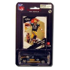 Green Bay Packers 2009 NFL Limited Edition Die-Cast 1:64 Dodge Charger with Aaron Rodgers Card by Press Pass  $7.99