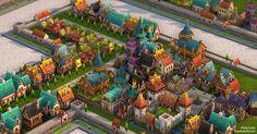 Warwielder Art Dump: hand-painted buildings ahead! - Polycount Forum