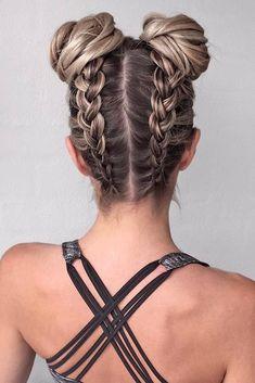Braided Hairstyles for Long Hair hair tutorial video Pretty Braided Hairstyles, Cool Hairstyles, Braid Hairstyles, Hairstyle Ideas, Latest Hairstyles, Hairstyle Tutorials, Hairstyles For The Gym, Hairstyles Haircuts, Summer Hairstyles