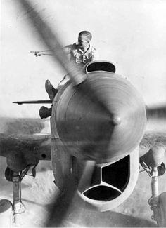 ❦ demons:  RAF Kittyhawk- looks like it's in the desert maybe 1942 or 43... For Ben