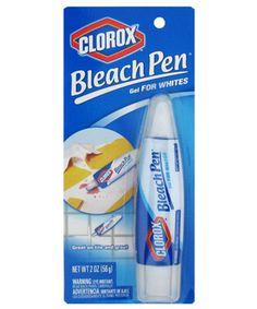 Clorox Bleach Pen #pen #bleach #laundry #stainremover