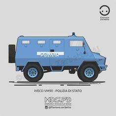 KombiT1: Iveco VM 90 - Polizia di Stato