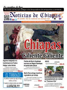#HoyEnPortada Chiapas Caliente Caliente.