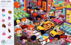 Cherche et trouve autour du monde Perception, Spot The Difference Kids, Hidden Pictures Printables, Numicon, I Spy Games, Powerpoint Games, Card Games For Kids, Kids Around The World, Picture Puzzles