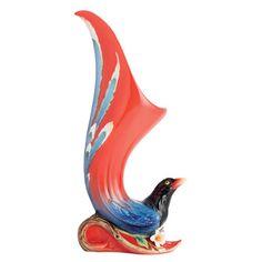 Franz Porcelain Vase - Joyful Magpie vase FZ01761