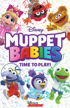 It is a good time to be a fan of The Muppets. It appears that there will be a reboot of The Muppets on the upcoming Disney streaming service. Muppet Babies is also on its […] Disney Junior, Disney Jr, Baby Disney, Muppet Babies, Miss Piggy, Geeks, Canal Disney, Baby Movie, Crop Pictures