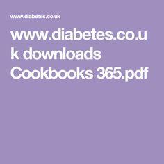 www.diabetes.co.uk downloads Cookbooks 365.pdf
