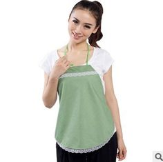 Radiation-free Apron Colour: Light green/white race
