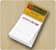 As Low as 50¢ | 3.5 x 6.25 Full Color Magnetic Notepads