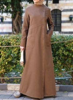 Burqa Designs, Abaya Designs, Abaya Fashion, Modest Fashion, Fashion Dresses, Hijab Dress, Hijab Outfit, Moslem Fashion, Hijab Chic