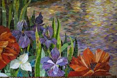 """Chippewa Creek"" mosaic mural by Yulia Hanansen #10"