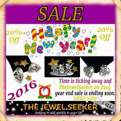 Everything is marked 20% off through the end of the year!  #ShopNow for #Vintage #Fashion #Jewelry and SAVE!  www.etsy.com/shop/TheJewelSeeker