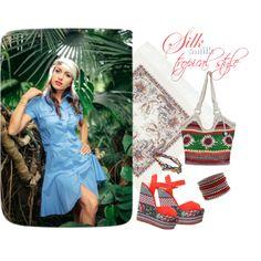Silk&Milk in tropical style. #summer2016 #outfitidea #silkandmilk #dress #cottondress #kerchief #mommylook #breastfeeding #nursing #formom #happybaby #happymom #tropicana