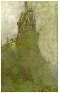 The Golden Age: Willy Pogany ~ Parsifal ~ 1912 edition