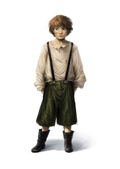 Conceptual character art of an Orphan Boy for Doctor Who : The Adventure Games (Gunpowder Plot). Doctor Who ©2012 BBC
