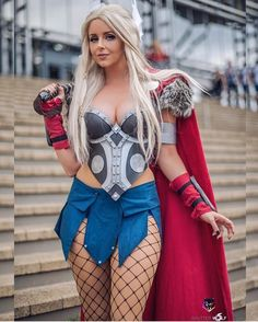 "5 Likes, 1 Comments - Fran Martin (@best_marvel_cosplays) on Instagram: ""Cosplayer: @ami_isley Photo: @shutterwolfphotography #thor #ladythor #janefoster #asgard"""