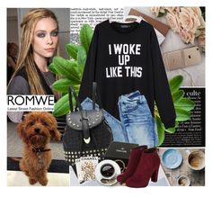 """""""Romwe"""" by brigitte-edwina ❤ liked on Polyvore featuring Chanel, Assouline Publishing, women's clothing, women's fashion, women, female, woman, misses and juniors"""