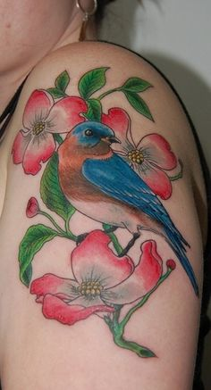 love this but would pick a flower other than dogwood