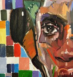 Chris Denovan | Two Sides To Her - available for sale | StateoftheART Your Paintings, Original Paintings, Canvas Size, Oil On Canvas, Contemporary Portrait Artists, Sun Painting, Fine Art, Gallery, Artwork