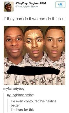 This guy contoured his face PERFECTLY ℒℴvℯly