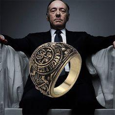 Карточный домик кольцо франк кольцо старинные ретро античное золото и для мужчин и женщин оптовая продажа