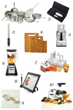 10 Gift Ideas for Food Lovers and Home Cooks 2013 Holiday Gift Guide on gourmandeinthekitchen.com