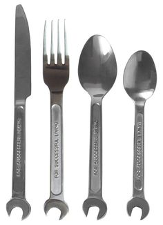 Diesel By Seletti Machine Collection Cutlery Set - NoveltyStreet