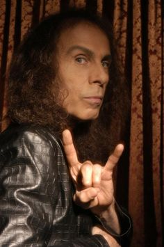 Dio. Truly a fine talent that was gone too soon. It was a blast watching you perform on stage with heaven and hell. I'm glad I got a chance to meet you Dio. May your music live on. R.i.p