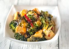30 recetas ligeras para el almuerzo que ayudan a adelgazar Tofu, Broccoli Stir Fry, Chili, Protein, Vegan, Restaurant, Fries, Healthy Eating, Keto