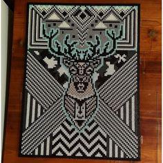 Deer perler bead art by  jennasylvie