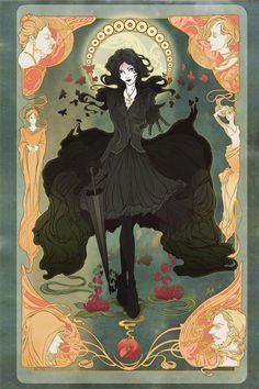 Death from Sandman Comic Series Poster by yienyipfan on Etsy