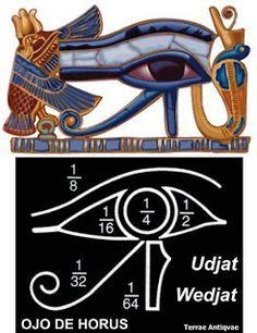 El ojo  wedjat, udjat, udyat, ugiat , ojo de Horus, es uno de los amuletos más conocidos del antiguo Egipto y del mundo musulmán a...